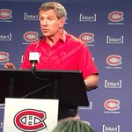 Marc Bergevin speaks to the media about the signing of Alexander Radulov. WATCH -> https://t.co/X8aWqa2Gh7 https://t.co/RqJh0cFUal