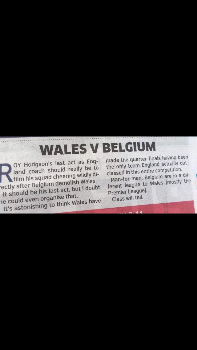 ....class most certainly told #WAL