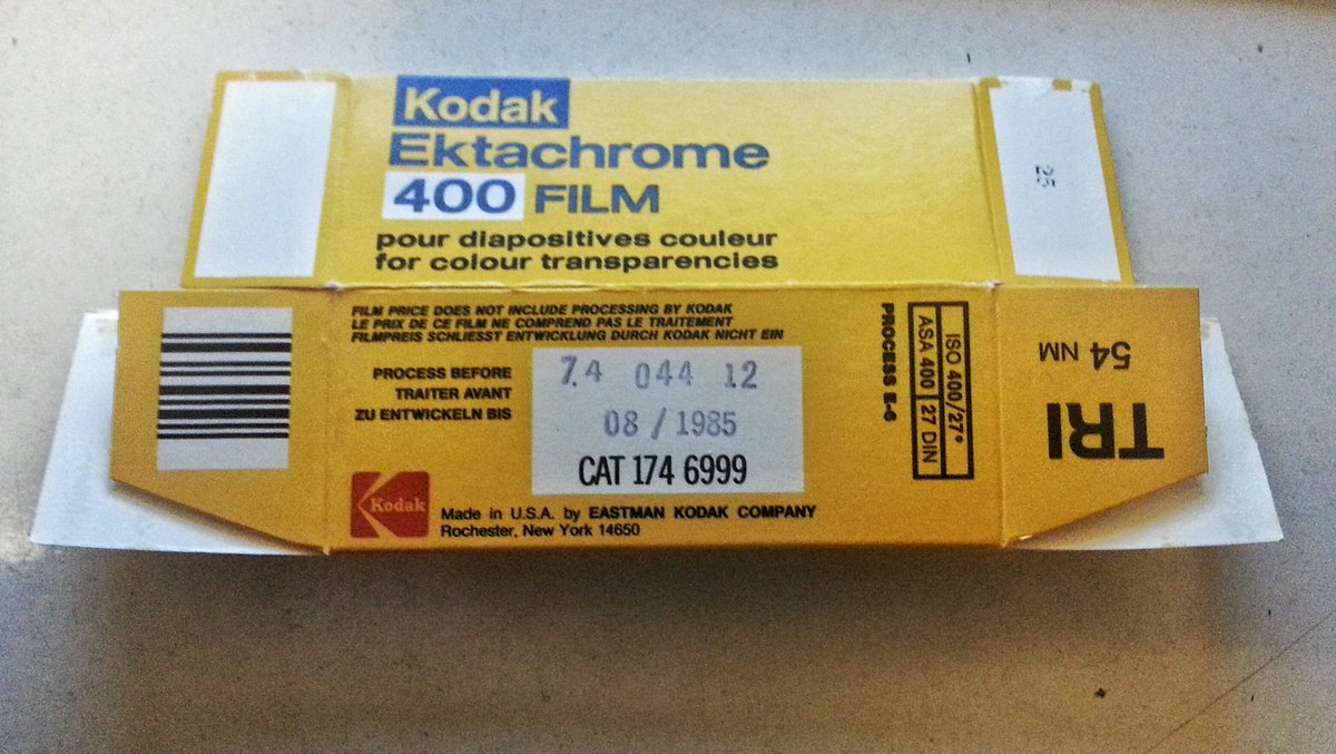 A 31 year old #expired roll ektachrome 400! @EMULSIVEfilm @KodakProFilmBiz @jonasx70 #FilmIsNotDead #BelieveInFilm https://t.co/vAZiZVjWId