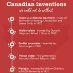 A proud and brilliant nation, Canada won't stop innovating #CanadaDay ???? #CanadaProud https://t.co/tr2jLEiS45