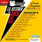 El @MunicipioCuenca invita al Taller #LaHistoriaDelRockAndRoll desde el 7 de julio en el Museo de la Ciudad ¡Gratis! https://t.co/AIbUOdPdOT