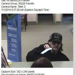 #LATEST: Franklin police name 5/3 Bank robbery suspect. Call 937-746-2882 if you know him. https://t.co/p4f84jUkZO https://t.co/EZeDwZ7EFu