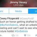 Guys. Look what tweet Vesey favorited! ???? #Sabres https://t.co/yWF6qiaDyJ