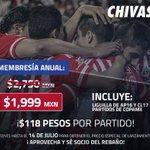 ¡Tienes que aprovechar el precio especial por lanzamiento! Conviértete en socio de #ChivasTV????https://t.co/6zPMpyV8Hh https://t.co/StksT06lvY