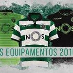 Sporting apresenta novos equipamentos, incluindo um para a «Champions» https://t.co/LcIdrH9aX3 https://t.co/68TxsFvg5C
