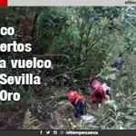 Cinco muertos deja vuelco en Sevilla de Oro- #Azuay https://t.co/0cJ9NJng5K https://t.co/W9ni8muEvo