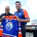"""""""I love the way he plays."""" #Oilers GM Peter Chiarelli on the addition of Milan Lucic ???? https://t.co/nCdWql1r7X https://t.co/MPNnhIcX9l"""