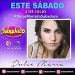 ℹ Mañana @DulceMaria estará en @SabadazoOficial #DulceMaria #KCAMexico #DulceMariaTrendy ¡Imperdible! https://t.co/jSpk14ani6