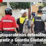 Limpiaparabrisas detenidos por agredir a @PolmunicipalGC -#Cuenca https://t.co/ZnbmmiizWT https://t.co/rDX9B2CTw6