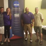 Got to spend part of my day with some awesome Duhawks today. IIAC coaches of the year.  #lovemyjob # terrificpeople https://t.co/JqGrHxh7bC