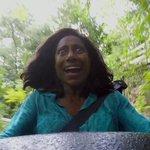 Gloria Maria depois da primeira tragada no cachimbo na Jamaica https://t.co/nytl2uZmfF