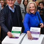 GALLERY: Malcolm and Lucy Turnbull were all smiles as they voted in Double Bay. https://t.co/kjDeBU1d1v https://t.co/2tfFsywaRd