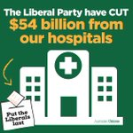 Turnbull chose $50b business tax cut instead of funding hospitals. Now you get to choose #ausvotes #putLiberalslast https://t.co/H2YC8EKEqs