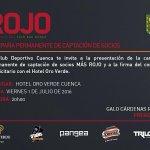 .@galocardenasr presenta campaña #MásRojo que servirá para aliviar la economía del club. @UNSIONTV https://t.co/KIE0SVlixf