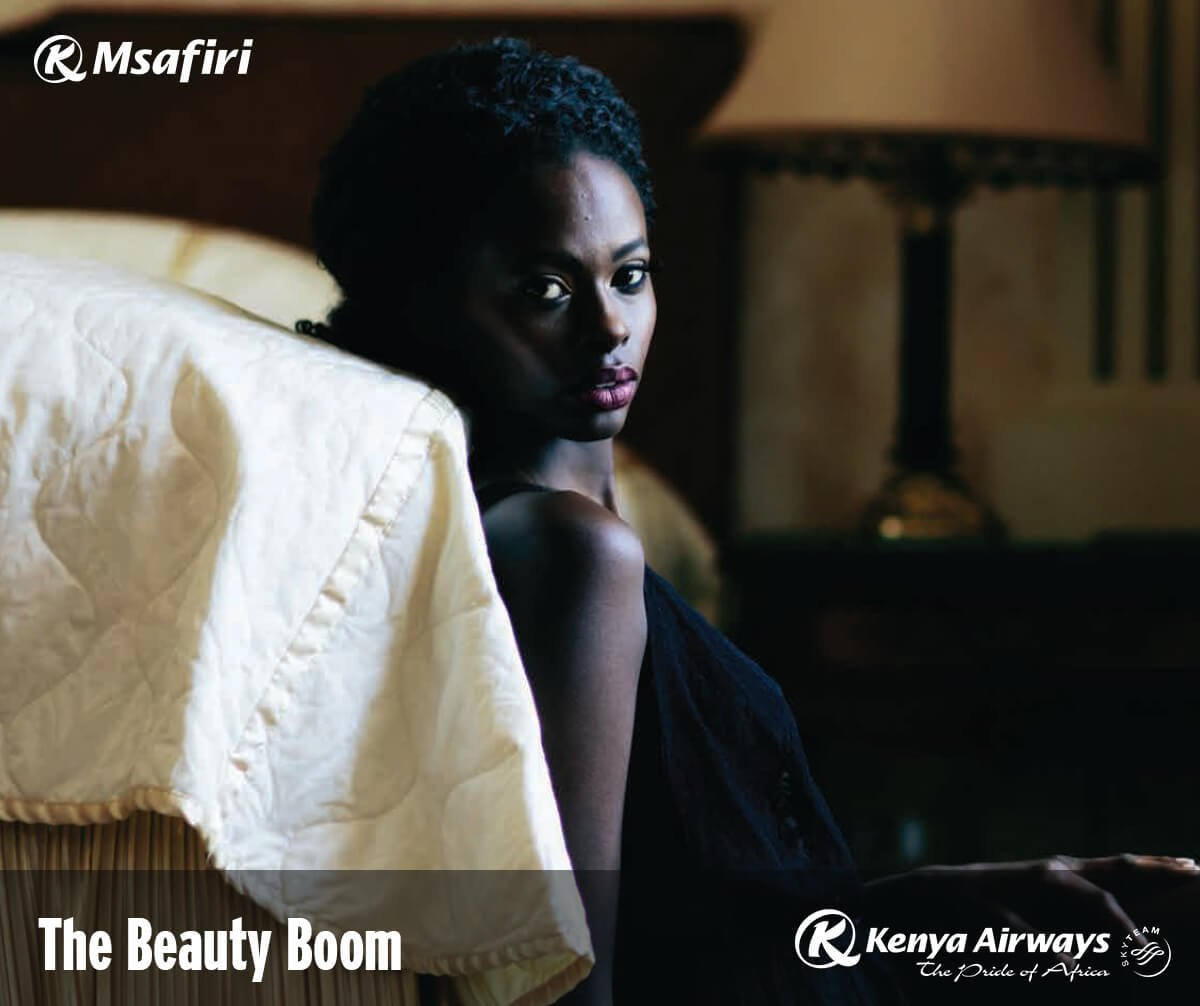 The beauty industry is growing fast in Kenya. Read the article in