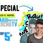 No te pierdas este sábado el especial #MarioBautistaXOchoTv @mariobautista_ 6pm por @ocho_tv con las @Bautistersgdl_ https://t.co/iFmBseXqOK