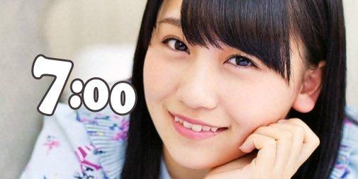test ツイッターメディア - 2月19日火曜日 AKB48の小嶋真子が7:00をお知らせします。 #小嶋真子 https://t.co/48pvwFT7b7