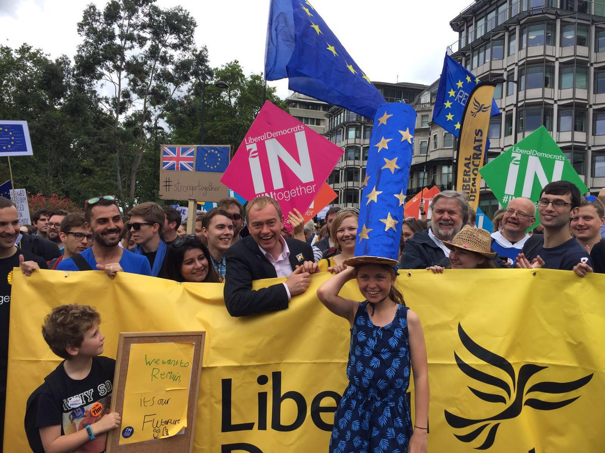 It's OUR future. We want to stay in Europe! #marchforeurope https://t.co/NALYyWSmM6