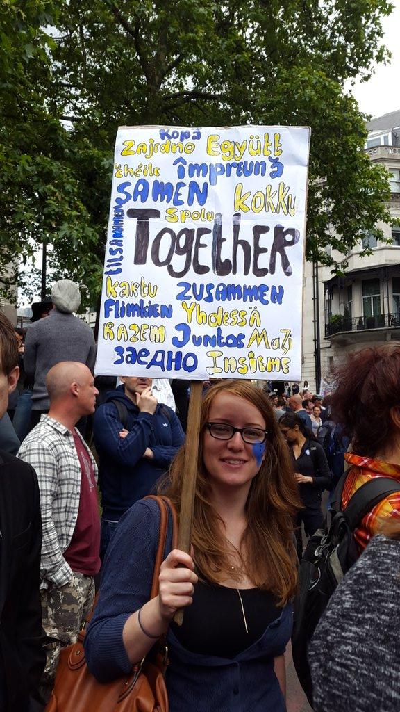 London #MarchForEurope https://t.co/imdAS6jp6Z