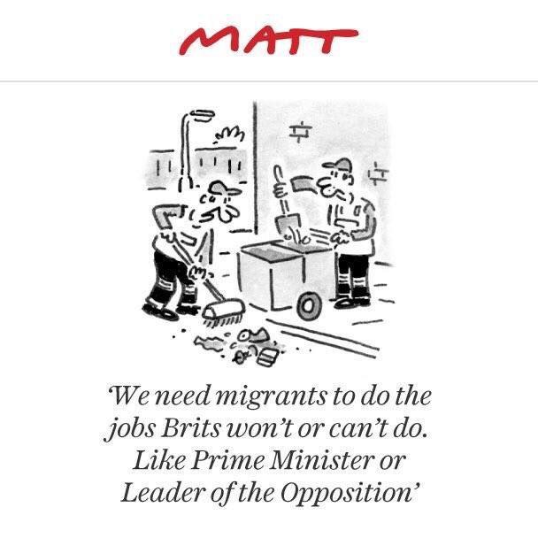 Matt in the Telegraph has had a very good week https://t.co/WksI5E4tbF