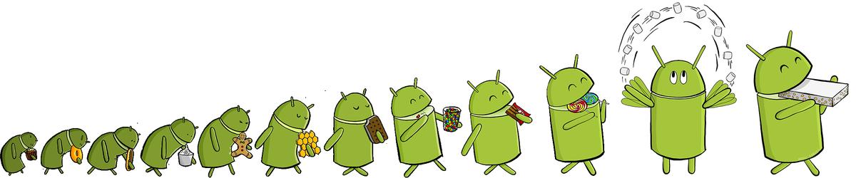 L'évolution d'Android https://t.co/Pv9XEcLh9p