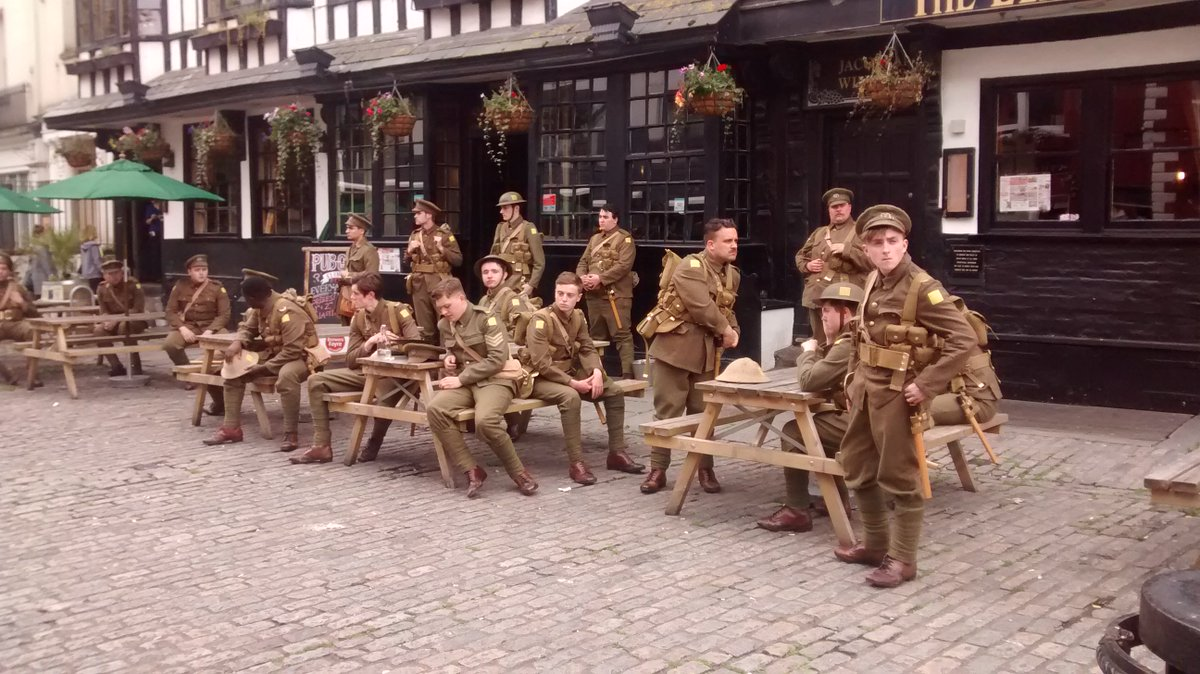 We're proud to be part of #Wearehere - conceived & created by @jeremydeller, #RufusNorris, commissioned by @1418NOW https://t.co/tc8p2xyTvD