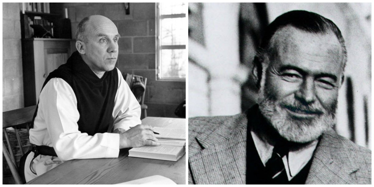Ernset Hemingway died this day in 1961. Thomas Merton wrote an elegy for him that year:  https://t.co/VW6p8GuFuD https://t.co/QFq8jPBNoD