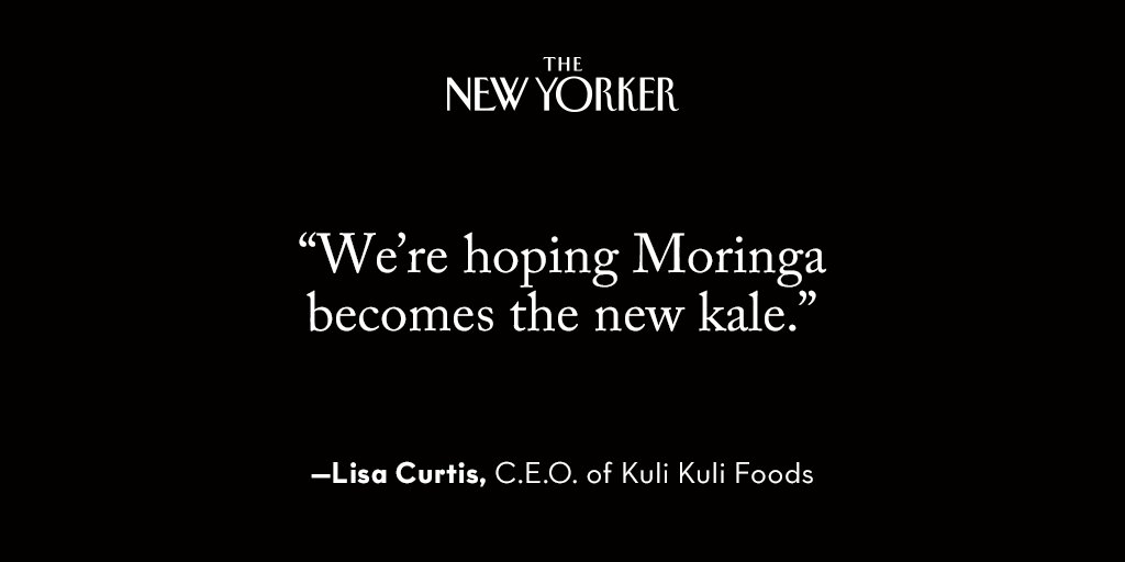 Meet the New Kale: Moringa