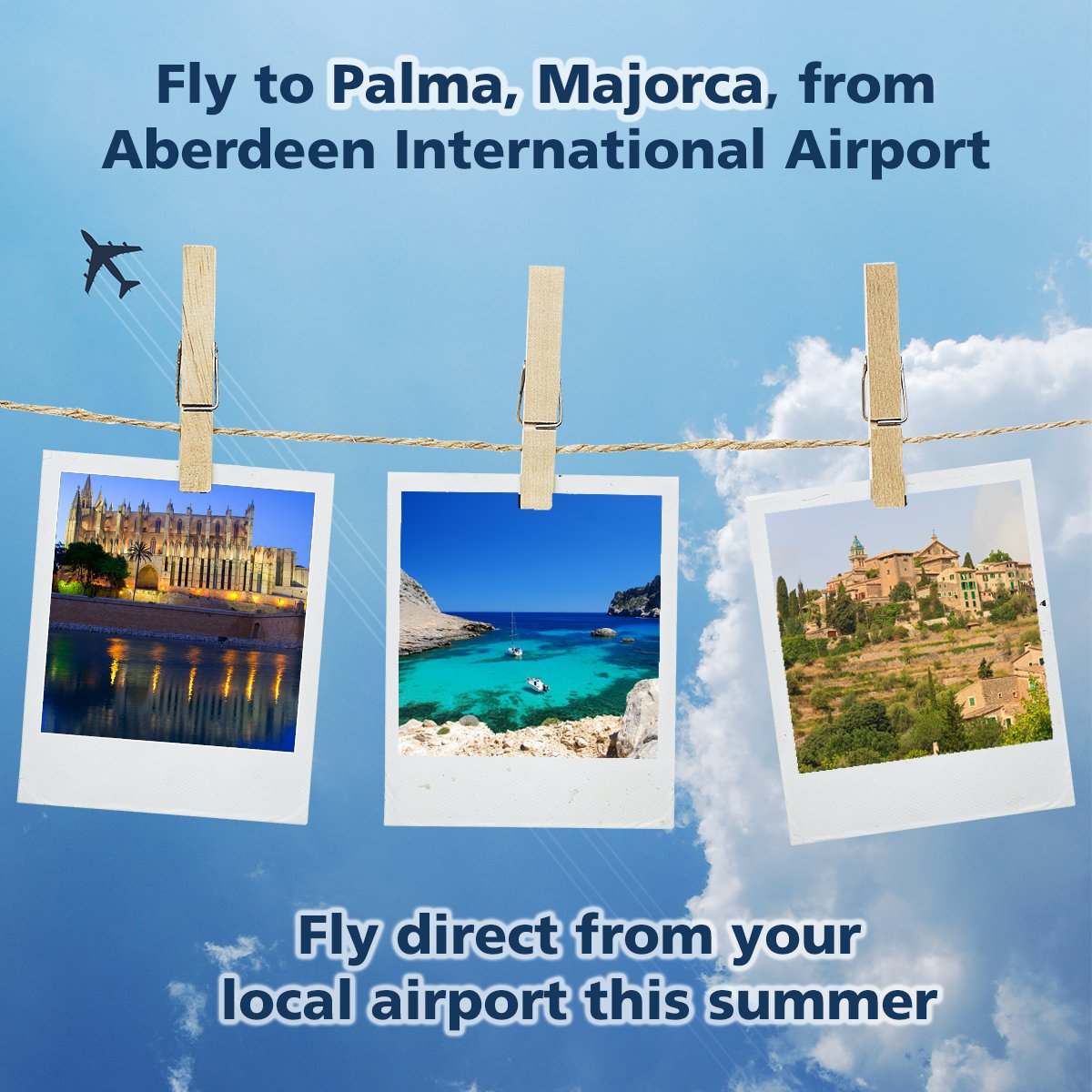 Fly direct to Majorca from your local airport this summer!