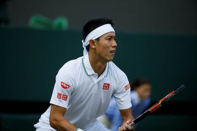 Congrats @keinishikori on your third round victory! https://t.co/bJiXcWlb9p