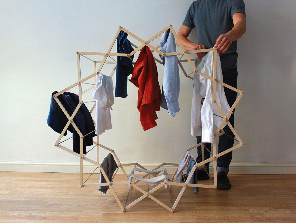 Как сделать вешалку в домашних условиях фото