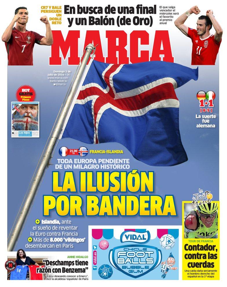 #LaPortada 'La ilusión por bandera' #ISL https://t.co/Oyd3aEXFOv