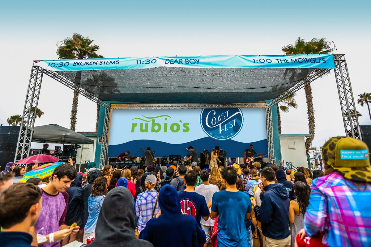 Clean up the beach & party down at Rubio's CoastFest on 7/16! Free food, live music & more! https://t.co/NJ6h3fGdMO https://t.co/UlLNhHjRNH