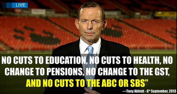 .@TurnbullMalcolm @ScottMorrisonMP You're right guys. It'd be terrible if a party lied to win an election #ausvotes https://t.co/WRWJXxTlTy