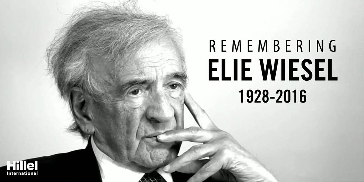 Thank you, Elie, for a lifetime of reflection & conversation. May your memory be a blessing. https://t.co/3Li0k2RWBp https://t.co/c7leHBSI8Z