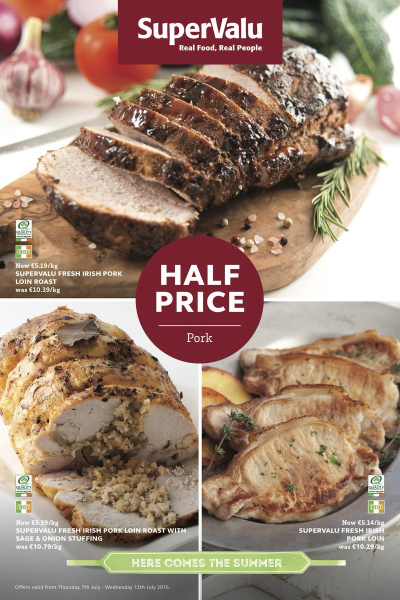 Sunday Dinner at Supervalu - it's special value! https://t.co/xrdhKw1nUX
