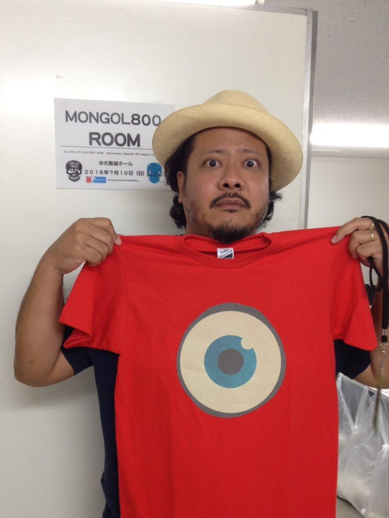 ロックロックこんにちは!祝20歳!大阪城ホール2日目…MONGOL800とキュウソネコカミがお世話になりマウス!! #モンパチ #キュウソ https://t.co/xbjg0StqtE
