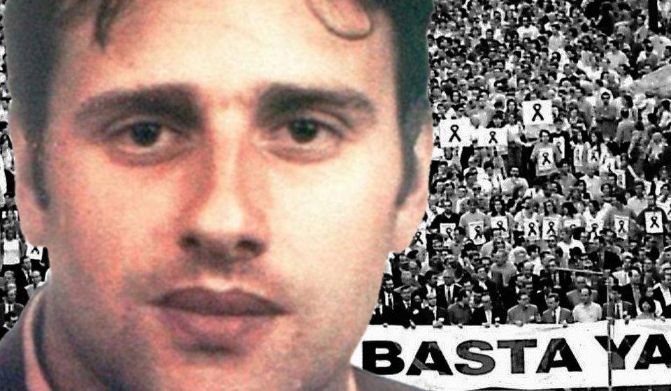 Hace 19 años Miguel Ángel Blanco fue secuestrado por ETA. In memoriam. https://t.co/MLbeLMyEMF