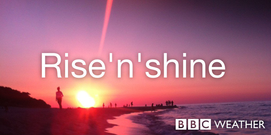 Good Morning Sunday Bbc : Good morning and happy sunday from the bbc weather centre