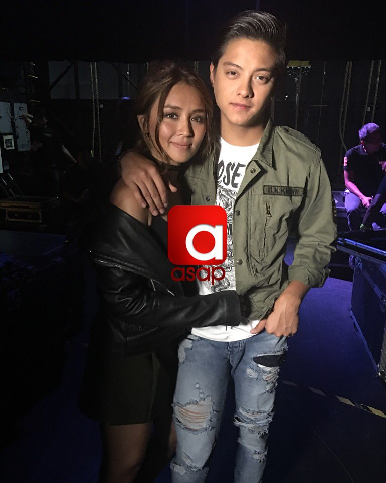 Fresh from Barcelona! Kathryn and Daniel!!! Pusuan niyo na mga #KathNiel fans!!! ❤️❤️ #ASAPinoyPride https://t.co/wSYJhJ0SBi