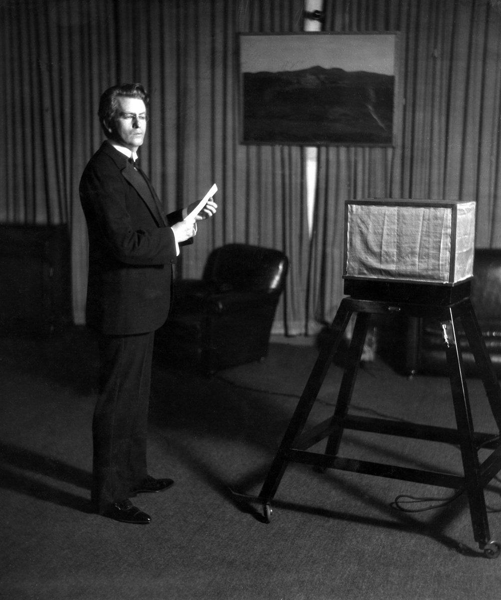 onthisday 1928 the first colour television transmission was