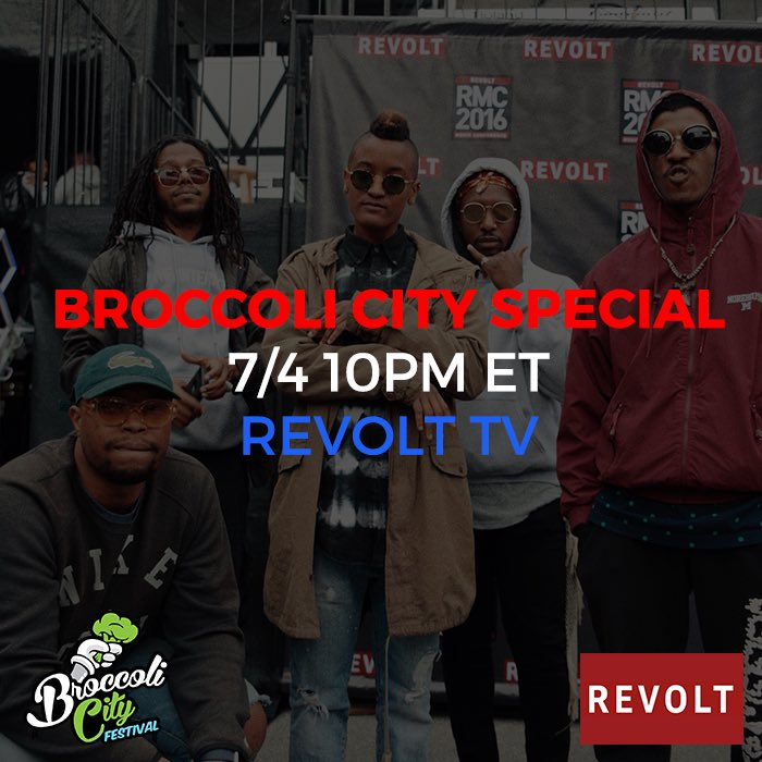 Tomorrow! Catch the why behind Broccoli City airing on @RevoltTV at 10 PM. 📸: @aalisub https://t.co/FdRmuUkZ9K