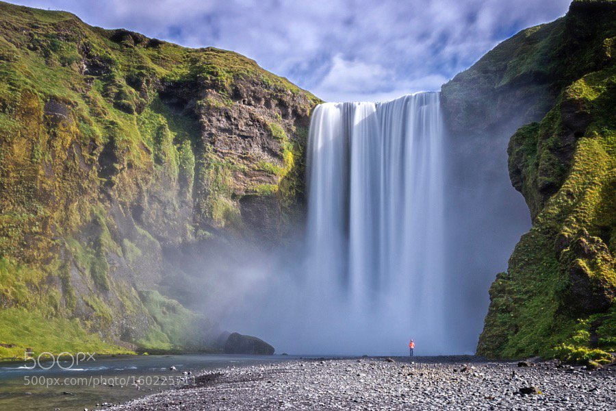 Skógafoss by TonVernes https://t.co/6jyUiHB9CY