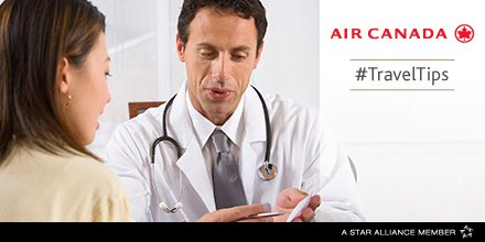 Travelling w/ pre-existing health issue? See a health pro b4 taking to the skies