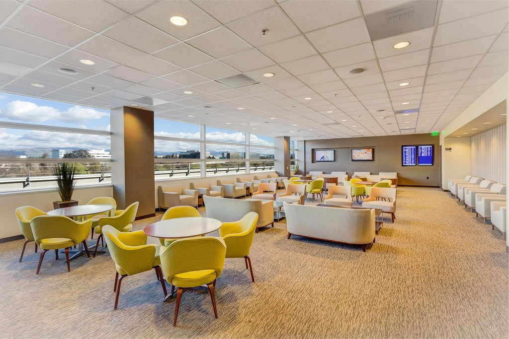Relax as you await your flight at @FlySJC with a few hours at The