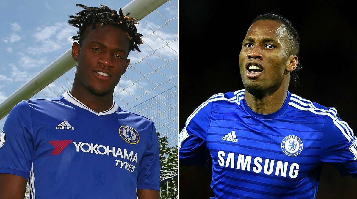 Michy batshuayi reveals he s looking to emulate chelsea legend