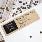 Custom printed return address label on brown kraft paper https://t.co/XKWvZvKmFR #etsy #ottawa #handmade https://t.co/25YRw7MEKx