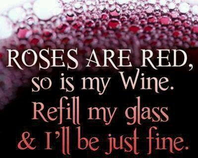 test Twitter Media - Roses are red.. so is my #wine. Refill my glass & I'll be just fine! #winelovers #wineselfies https://t.co/nsKWXyP4yL