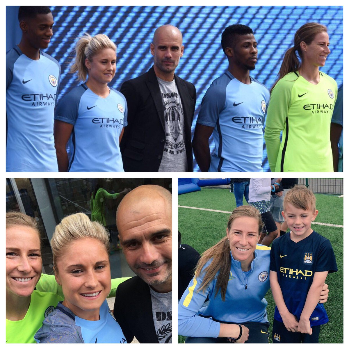 What a tremendous day! I'm so proud to be a part of such an incredible club. @MCWFC @ManCity