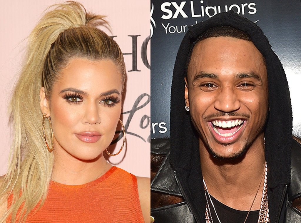 Khloe Kardashian and Trey Songz were spotted getting cozy in Las Vegas:
